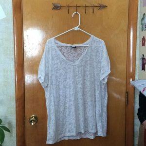 Torrid Sheer Skull T-Shirt